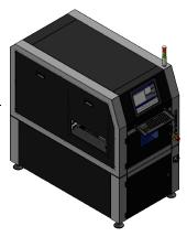 Inline Laser Cabinet, Incl. EVC Laser