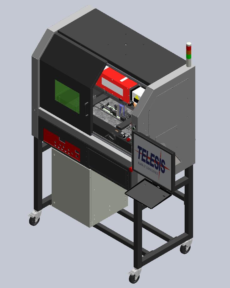 Laser Cabinet + Exhaust + Tagfeeder